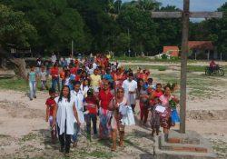 Seminaristas de Januária (MG) promovem Missão de Natal