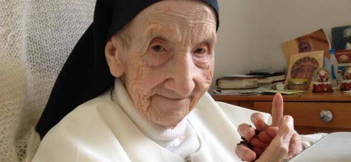 A religiosa dominicana mais idosa completou 110 anos