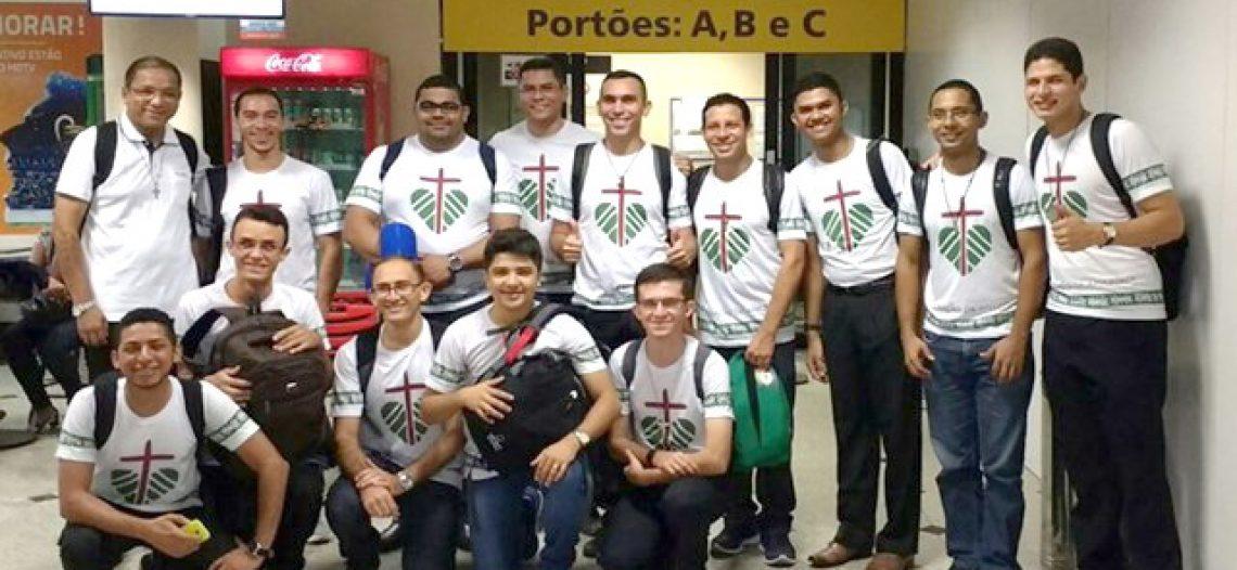 Seminaristas do Piauí em missão na Prelazia de Borba (AM)