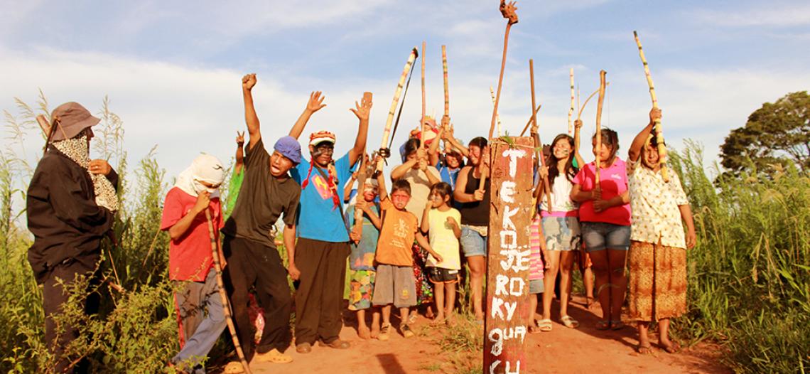 Com despejos iminentes, indígenas Guarani Kaiowá afirmam que resistirão
