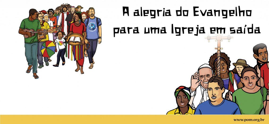 Comissão Organizadora divulga cartaz do 4º Congresso Missionário Nacional