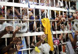 Das 166 prisões de São Paulo, 144 estão superlotadas