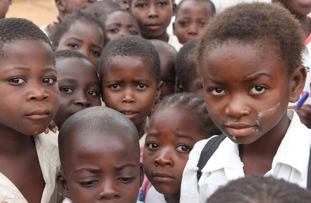crianças resgatadas