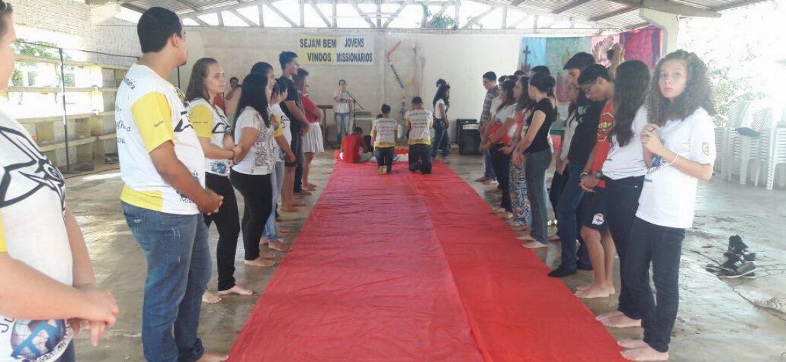 Juventude Missionária no Mato Grosso intensifica formação