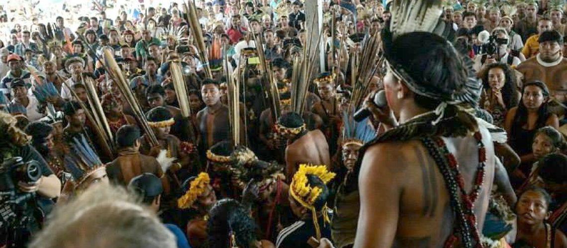 Povos Indígenas divulgam declaração do 14º Acampamento Terra Livre