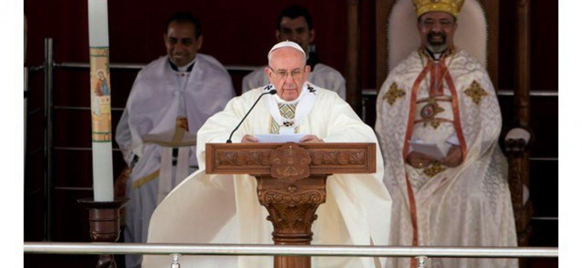 """""""O único extremismo permitido aos cristãos é o da caridade"""", diz Francisco"""