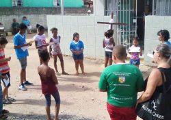 Via Sacra motiva crianças da IAM para a missão
