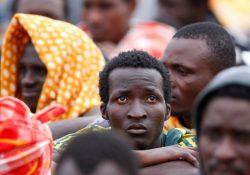 O sofrimento dos imigrantes para chegar à Europa