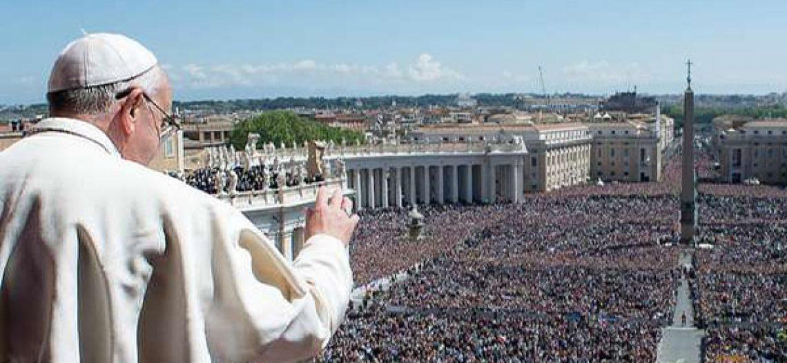 Vaticano divulga número de católicos no mundo