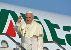 """Francisco: """"Falarei da paz, sempre e com todos!"""""""