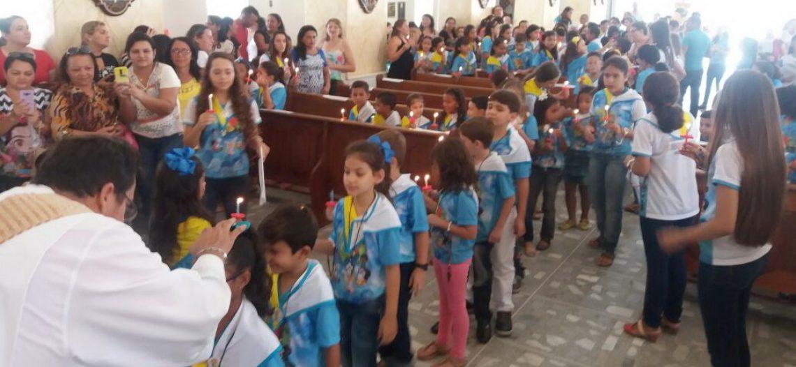 IAM consagra crianças e adolescentes na Solenidade de Corpus Christi