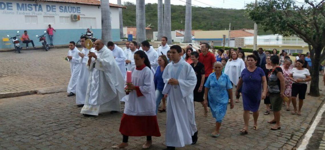 Seminaristas da diocese de Caicó (RN) realizam missão