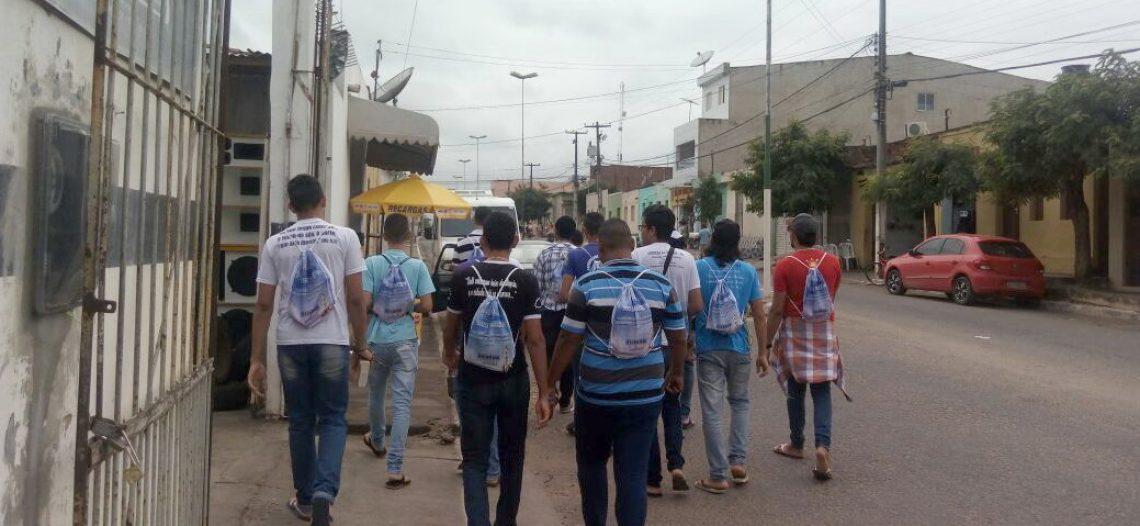 Diocese de Nazaré no Pernambuco promove Experiência Missionária Diocesana