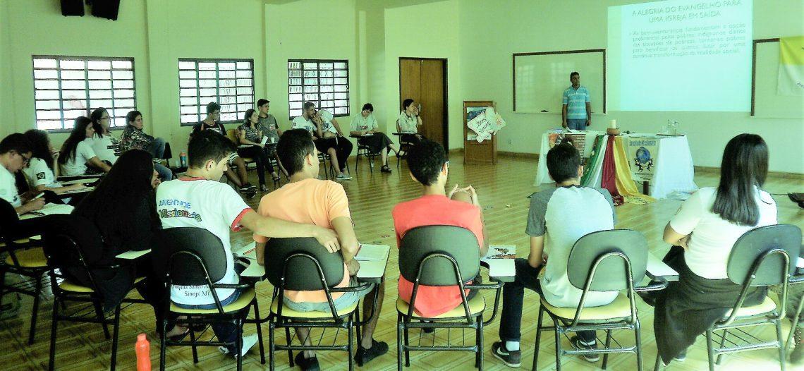 Juventude Missionária do Mato Grosso realiza formação estadual
