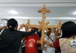 Cruz da Evangelização contagia sede do 4º Congresso Missionário Nacional