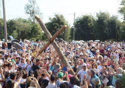 Multidão participa da 24ª Romaria da Terra e das Águas