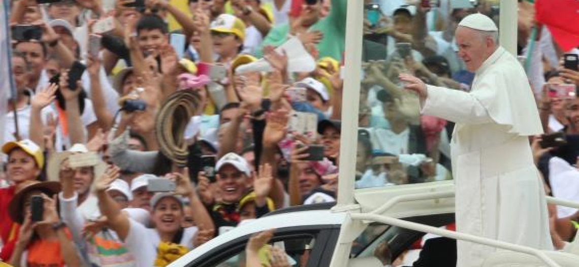 Papa: colombianos, não tenham medo de pedir e oferecer o perdão