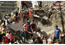 A solidariedade do papa Francisco com as vítimas do terremoto no México