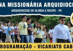 Começa Semana Missionária que antecede Congresso