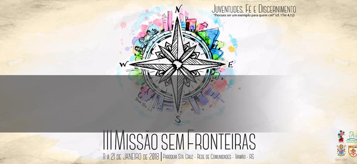 Juventude Missionária promove III Missão Sem Fronteiras