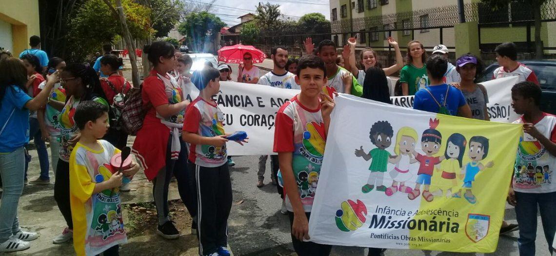 IAM na arquidiocese de Belo Horizonte realiza Bate Latas