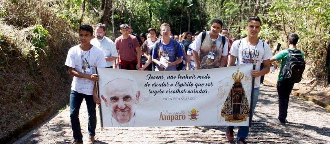 Jovens em Missão na diocese de Amparo (SP)