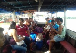 Missão na Ilha Trambioca no Pará