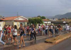 Diocese de Barra do Garças realiza Caminhada pela paz