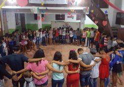 Juventude missionária de Eirunepé (AM) realiza retiro