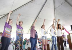 Juventude Missionária do RS participa da Romaria da Terra
