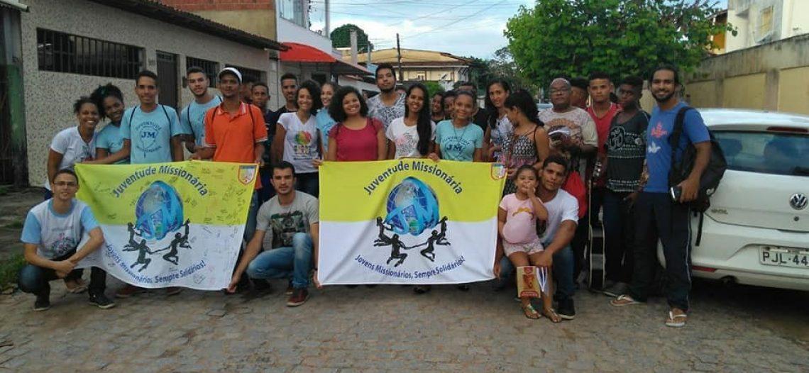 Aprofundamento Missionário com a JM da Diocese de Ilhéus (BA)