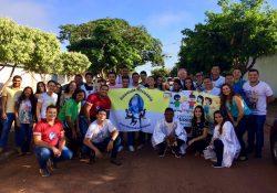 Celebrar a caminhada da JM do Regional Norte 3