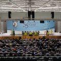 26/04/2017- Aparecida- SP, Brasil- Bispos da Igreja Católica no país se reúnem no Santuário Nacional de Aparecida (SP), interior de São Paulo, para a 55ª assembleia geral da Conferência Nacional dos Bispos do Brasil (CNBB). Foto: CNBB