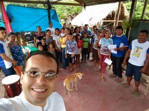 Comunidade Sao Lazaro - Presidi a festa (10-02) (1)