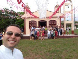 Comunidade Sao Sebastiao - Presidi a festa do padroeiro (20-01)