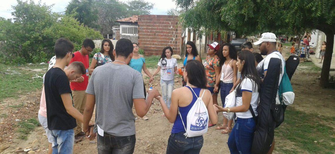 Intercâmbio missionário da JM da Diocese de Caicó (RN)