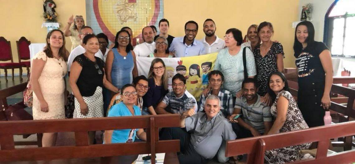 Encontro de formação missionária na Bahia