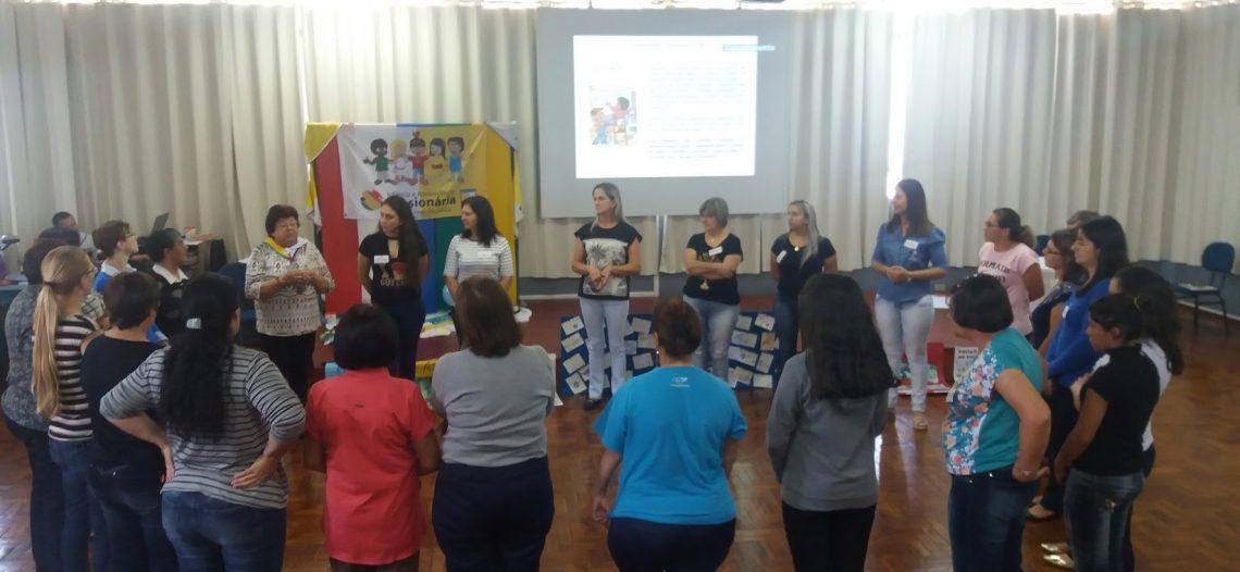 Assessores da IAM realizam formação na Diocese de Joaçaba (SC)