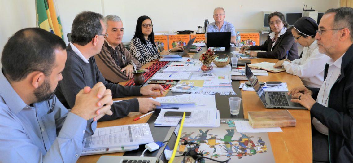 Reunião da equipe executiva do Comina