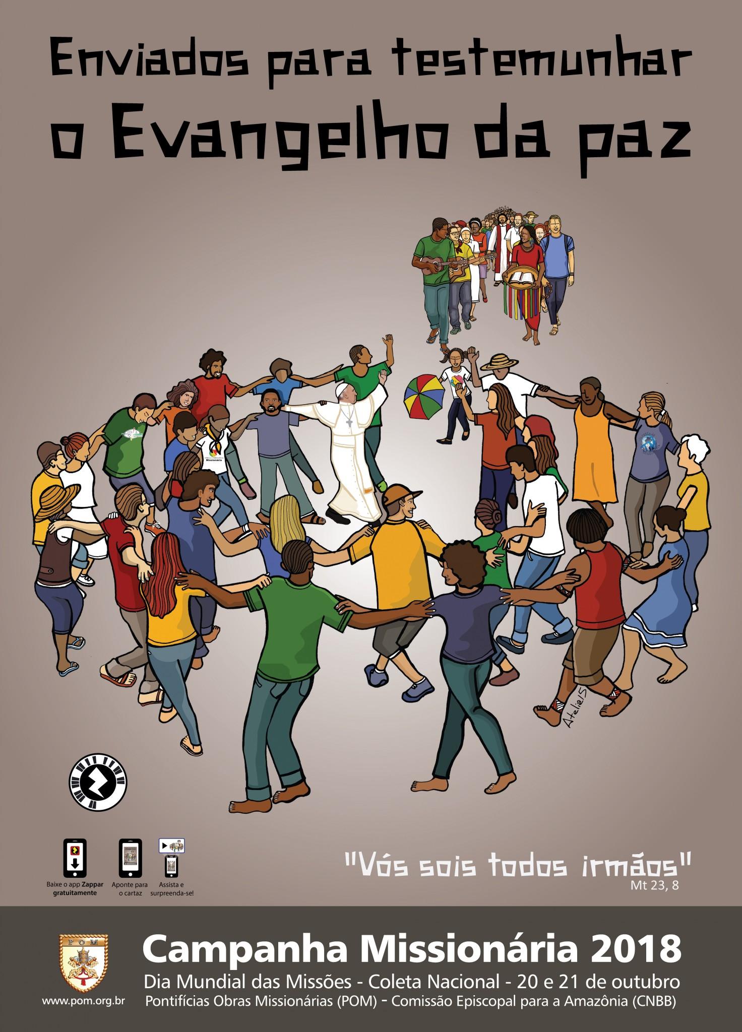 Outubro Mês Dedicado A Celebrar A Missão Nas Comunidades No Brasil