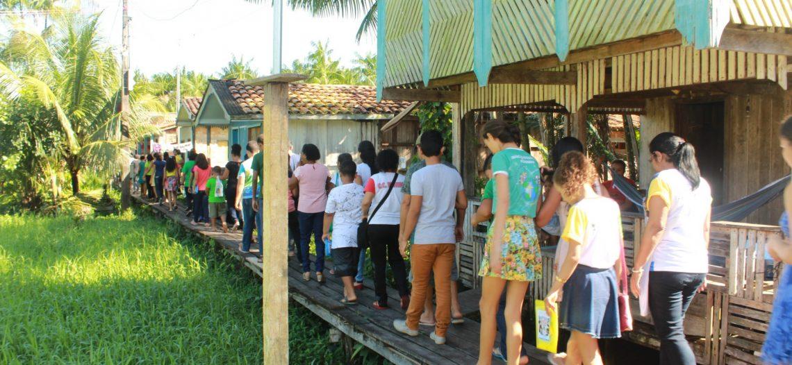 IAM realiza encontro na Vila Maiauatá (PA)