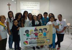 Encontro de Líderes Mirins da IAM em Ipatinga (MG)