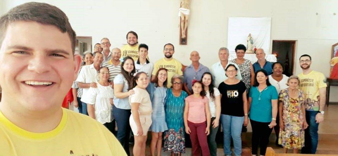 Visita pós experiência missionária realizada pelo COMISE da Diocese de Ituiutaba