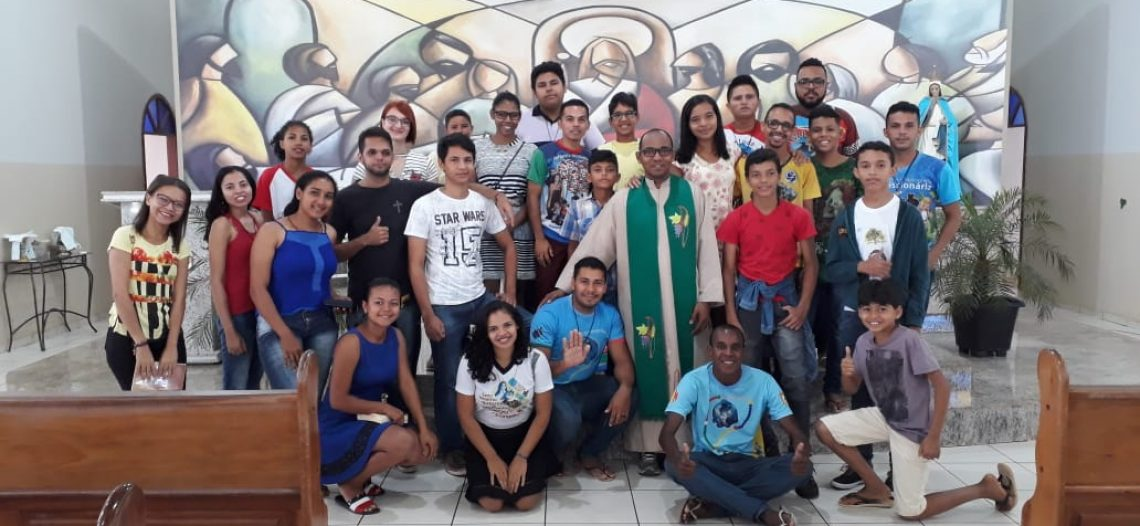 Formação da Juventude Missionária em Goianésia (PA)