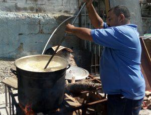 Sopa en la Parroquia de Carapita_Caracas