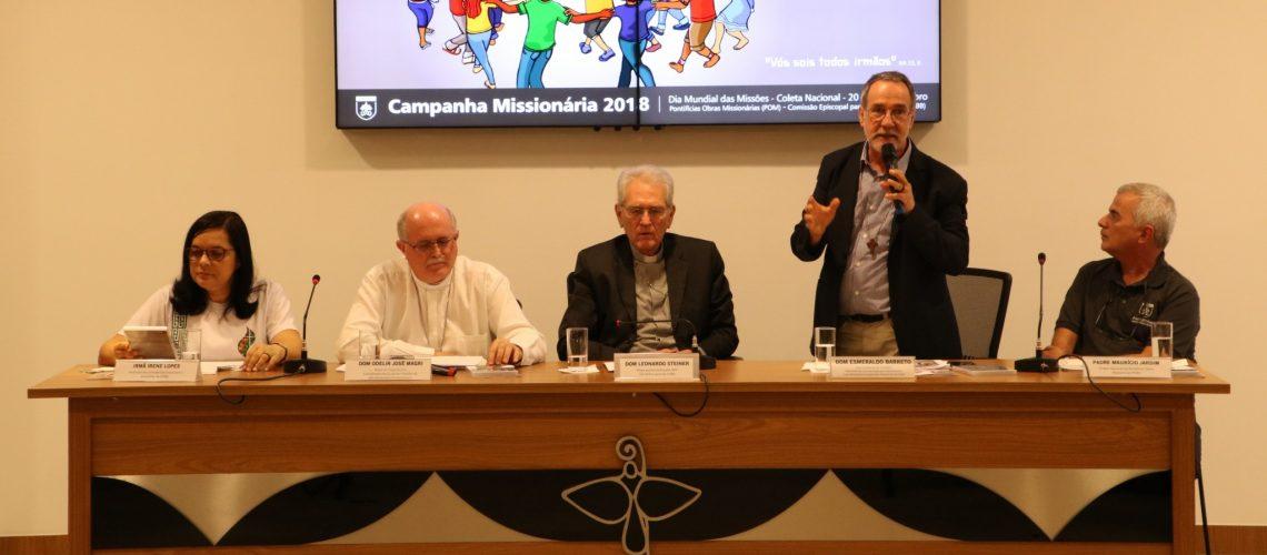 Campanha Missionária reforça o testemunho pela paz