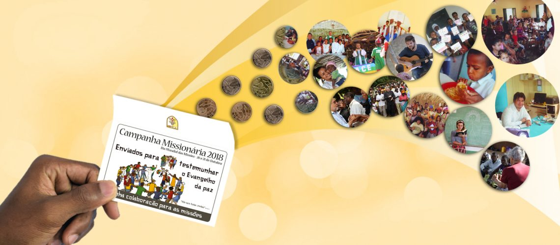 Coleta Missionária colabora com a missão no mundo