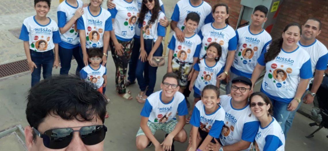 Famílias Missionárias participam da Missão Arquidiocesana no RN