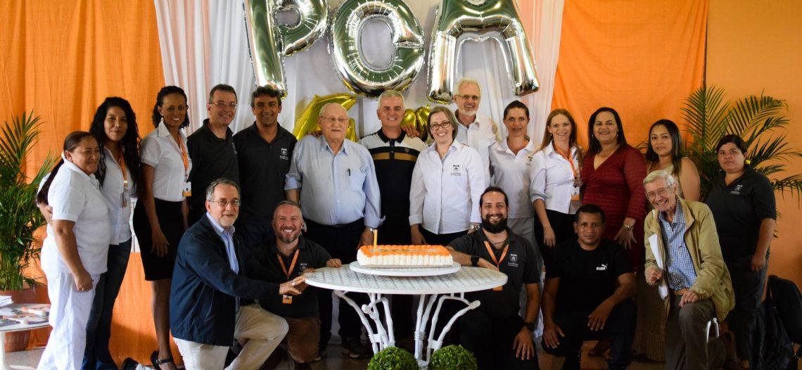 POM celebra 40 anos