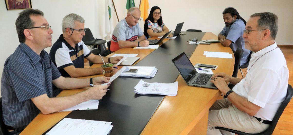 Equipe executiva do COMINA realiza reunião